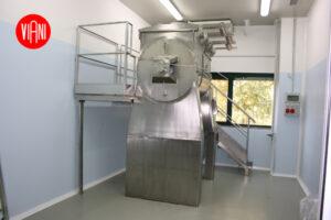 Mescolatore per polveri